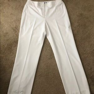 Jones NY off-white slacks size 12